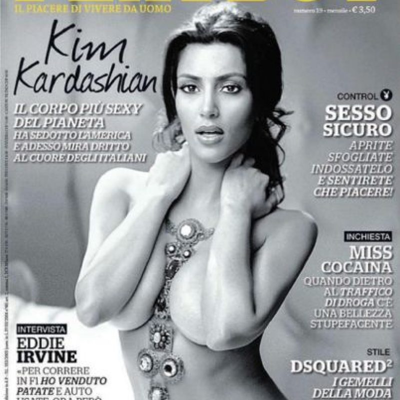 """2.- Luego de posar para la revista """"Playboy"""" en 2007, en 2010 anunció que quería volver a desnudarse para la publicación del conejito. Foto:Playboy"""