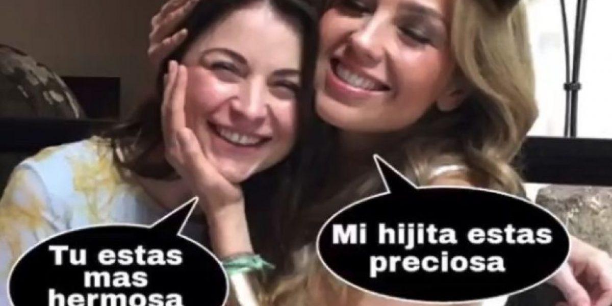 Thalía se reencontró con Ludwika Paleta después de 20 años
