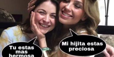 Tras la publicación de Thalía, sus fans comenzaron a compartir memes sobre su reencuentro de telenovela Foto:Vía instagram.com/thalia