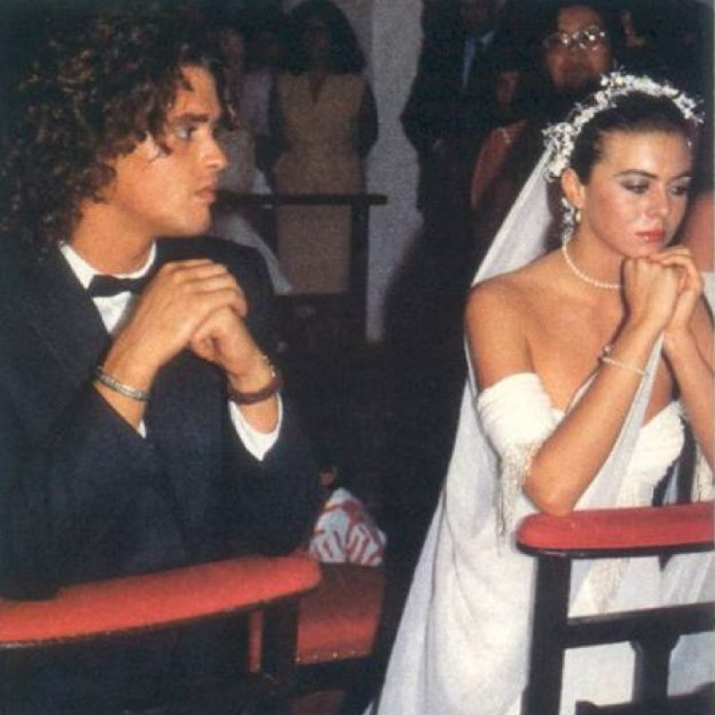 Carlos Vives y Margarita Rosa de Francisco