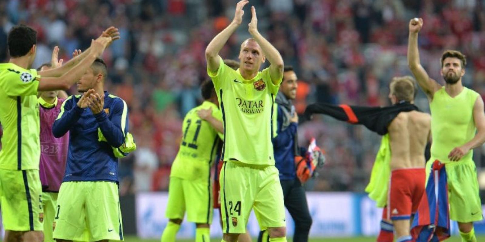 Aplaudieron a la afición local y a sus hinchas que viajaron desde España- Foto:AP