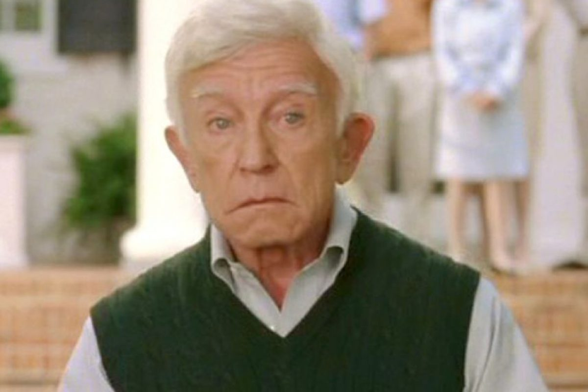 El actor falleció en septiembre de 2009, ocho años después de la película. Foto:Getty Images