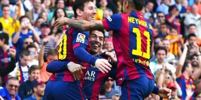 A lo largo de esta temporada suman más de 100 anotaciones entre los tres. Foto:Getty Images