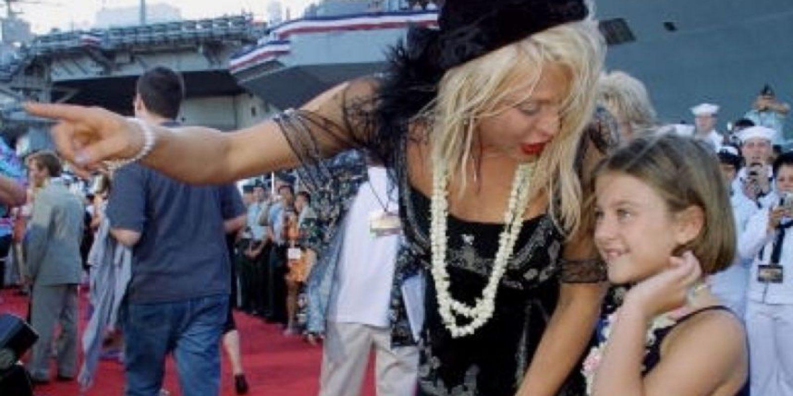 Sobre todo cuando Courtney Love acusó a Dave Grohl de tener una relación con ella. Foto:vía Getty Images