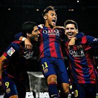 """La prensa española bautizó al ataque del Barcelona como """"MSN"""", por las iniciales de los nombres de sus integrantes: Messi, Neymar y Suárez. Foto:Vía instagram.com/neymarjr"""