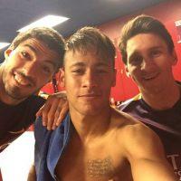 El tridente en el ataque del Barcelona, formado por Lionel Messi, Luis Suárez y Neymar, es en la actualidad, la mejor delantera del mundo. Foto:Vía instagram.com/neymarjr