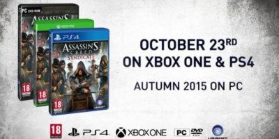 El juego saldrá a la venta el 23 de octubre de este año y estará disponible para Xbox One, PS3 y PC Foto:Ubisoft