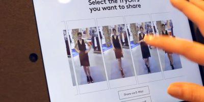 Después seleccionan los mejores atuendos y listo Foto:Memomi Labs Inc