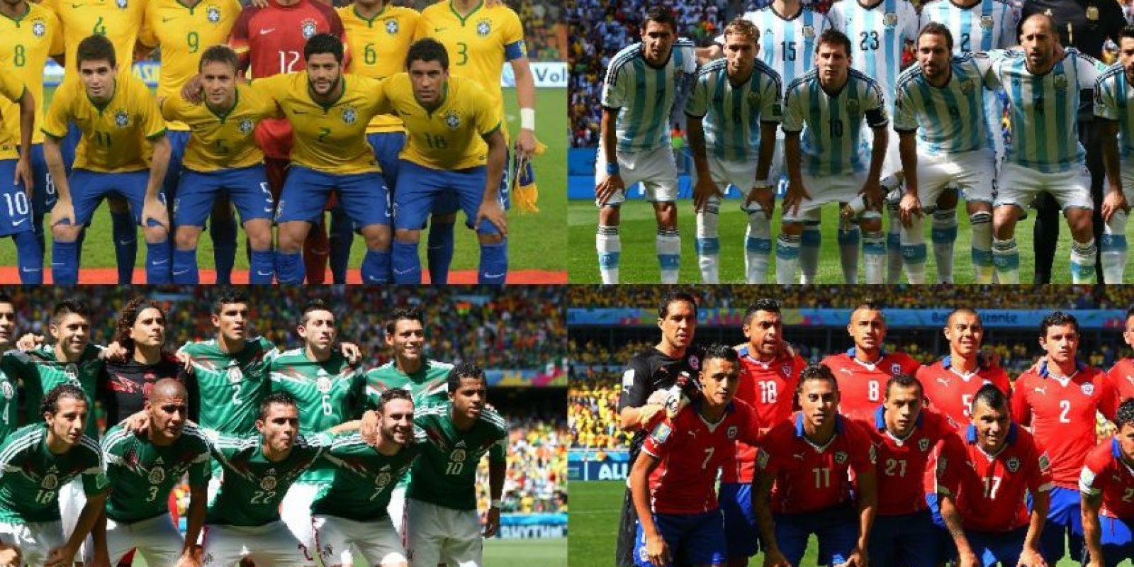 Varios combinados nacionales ya entregaron las listas de los futbolistas que tendrán acción en Chile 2015. Foto:Getty Images