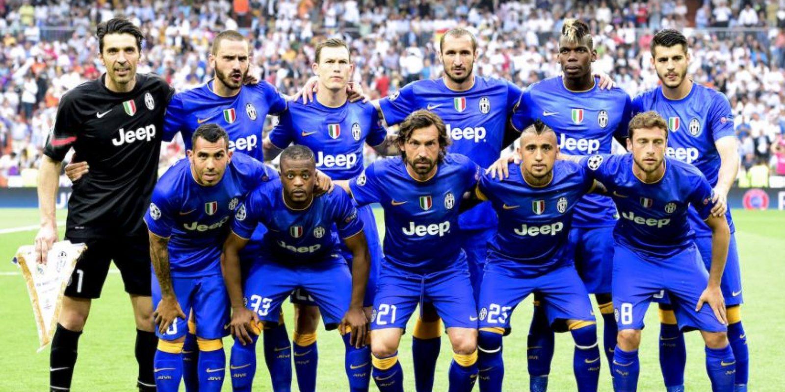 Y esta, la oncena inicial de Juventus. Foto:AFP