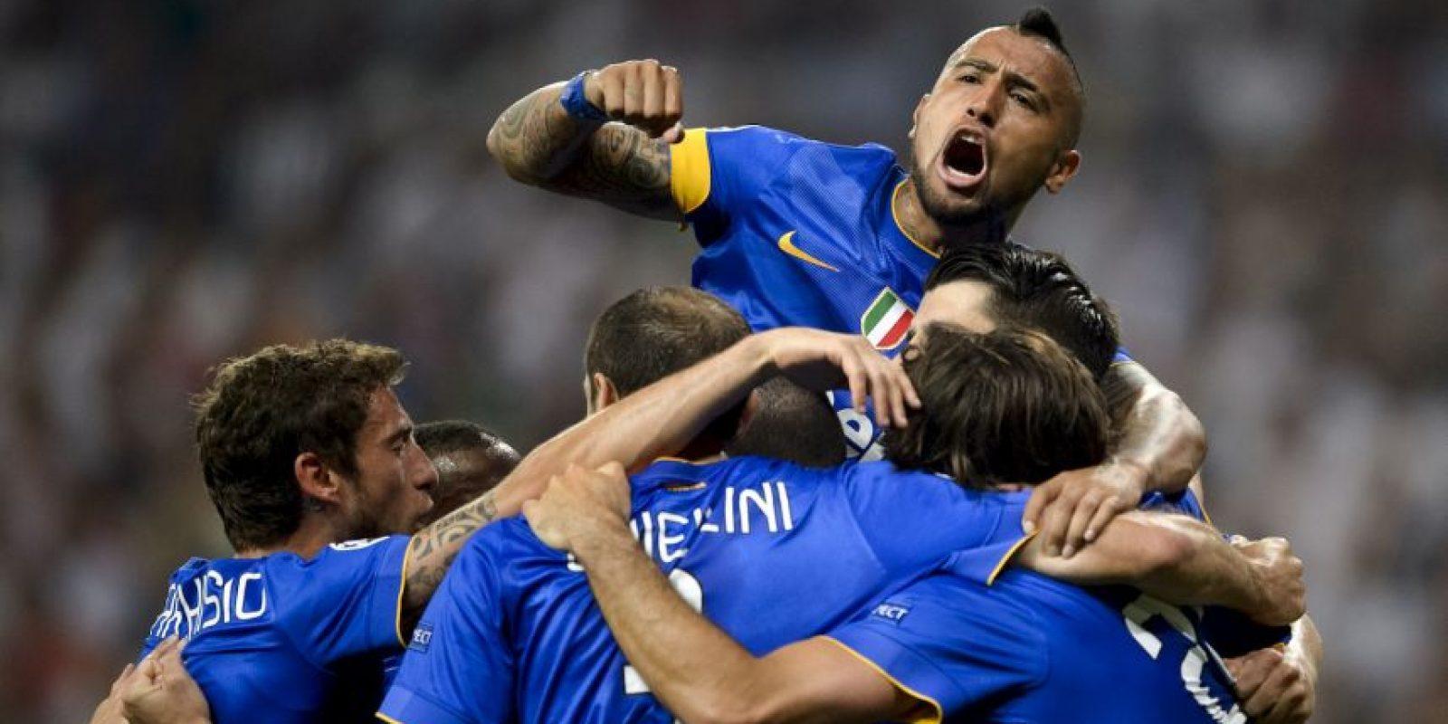 Y su recompensa llegó al 57′ con un gol de Álvaro Morata. Foto:AFP