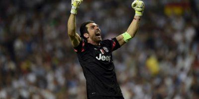 """Que fue celebrado con euferia por todos los integrantes del equipo """"bianconero"""". Foto:AFP"""