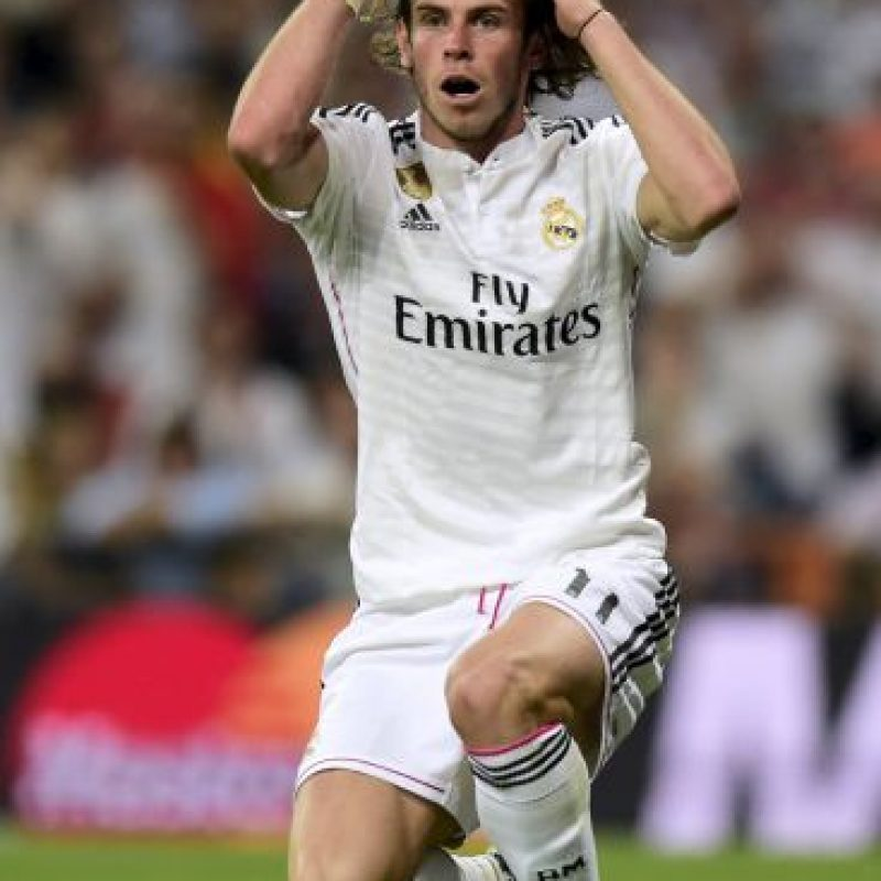 Ya en el segundo tiempo, Bale estrelló un disparo en el poste. Foto:AFP