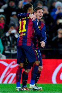 """Desde la temporada 2003-2004 no hacen el """"1-2"""" de la tabla de goleadores dos futbolistas del mismo equipo Foto:Getty Images"""
