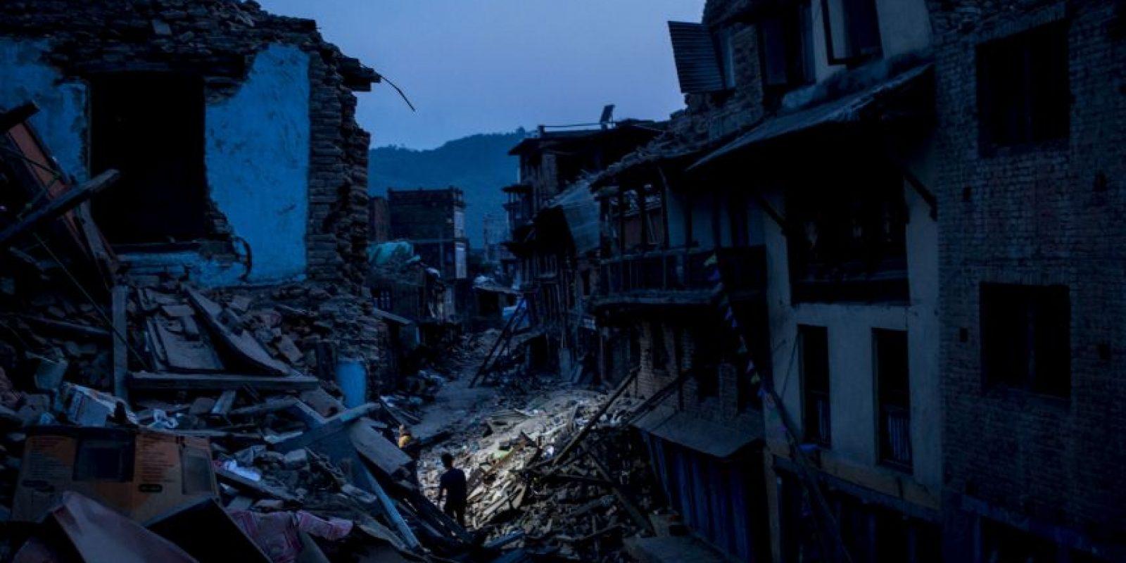 Así se vivió en el país el segundo terremoto, réplica del sismo del 25 de abril Foto:Getty Images