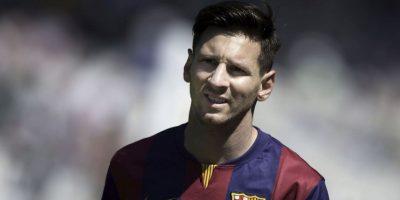 1. El primer conflicto que tenía Messi era la conducta de su hijo Thiago Foto:Getty Images