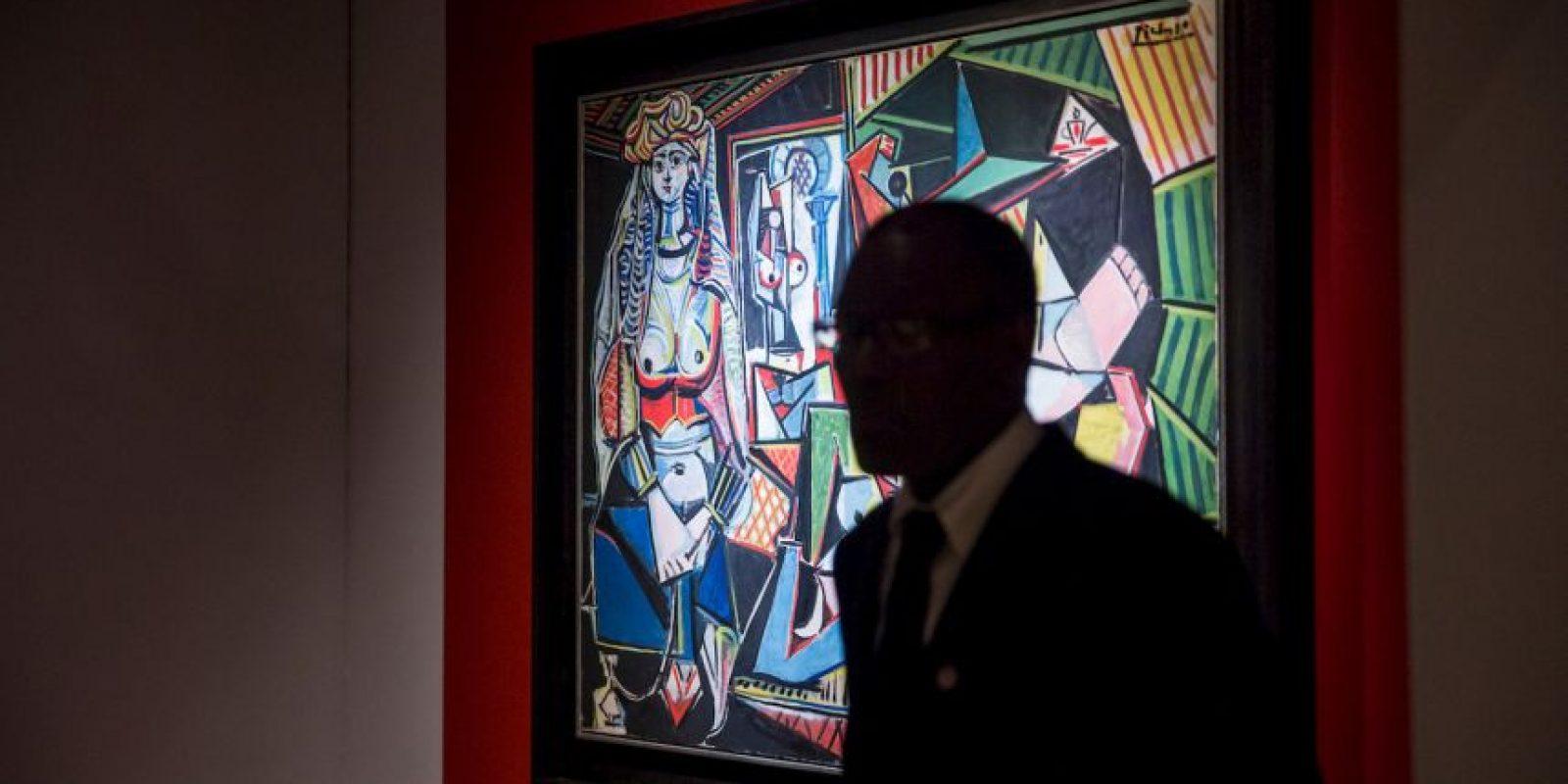 La obra del español Pablo Picasso se vendió en mayo de 2015 por 179.36 millones de dólares. Foto:Getty Images