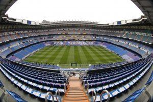El Santiago Bernabéu, listo para recibir la semifinal de la Champions League. Foto:Getty Images