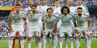 Este fue el cuadro titular del Real Madrid. Foto:Getty Images