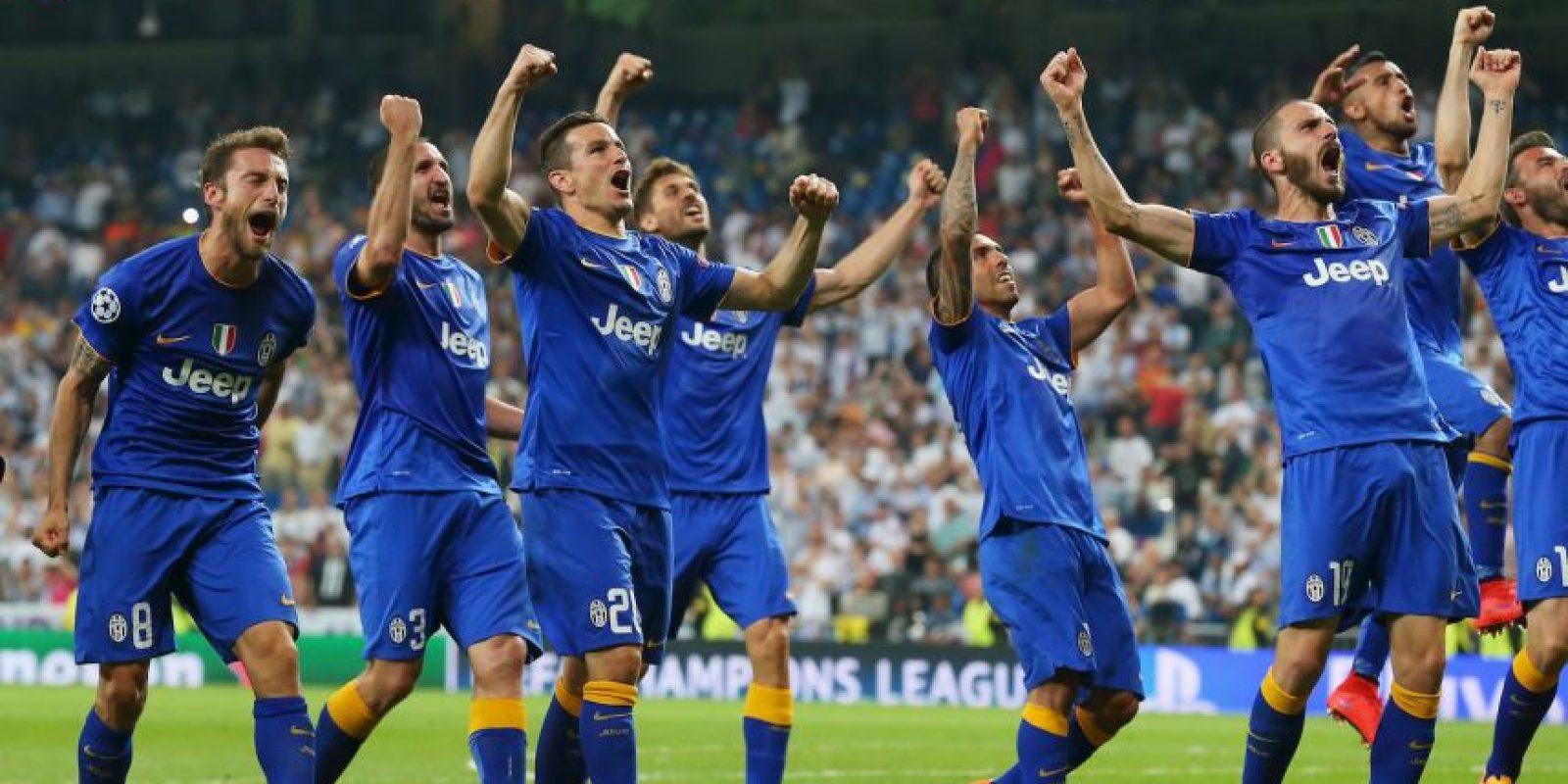 """Con un empate 1-1 en el Bernabéu, la """"Juve"""" venció 3-2 al Real Madrid en las semifinales y así, """"amarró"""" su boleto a Berlín. Foto:Getty Images"""