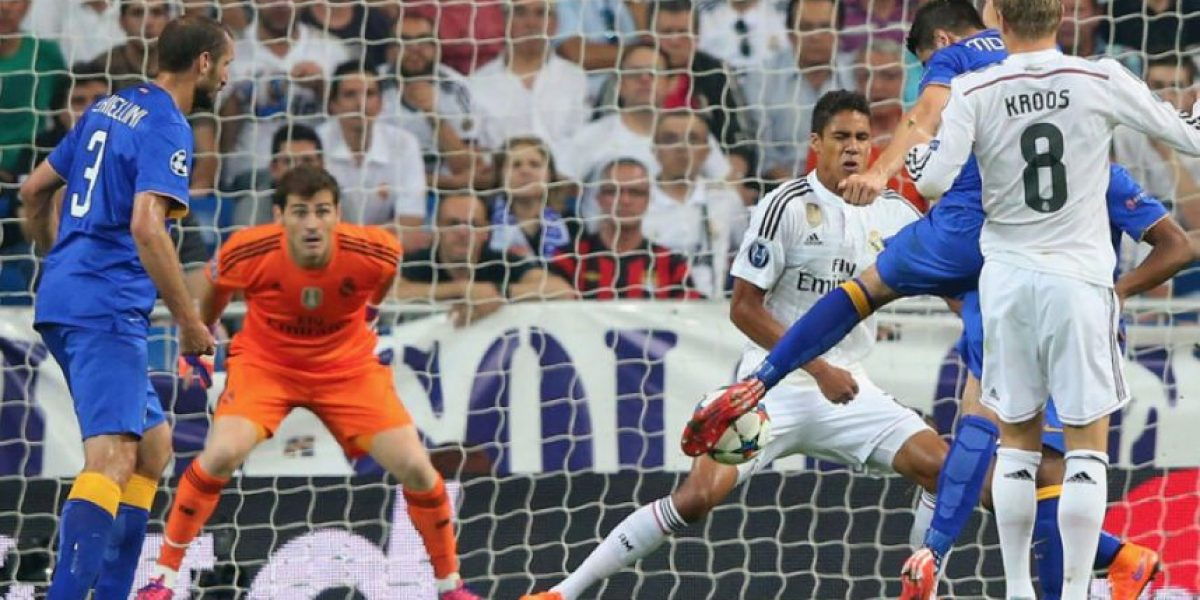 VIDEO: En un intenso juego Juventus dañó la final soñada