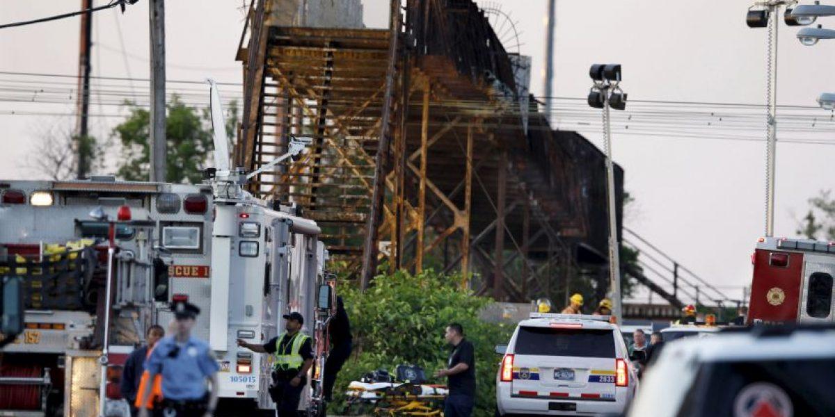 Aumenta la cifra de fallecidos por accidente de tren en Estados Unidos