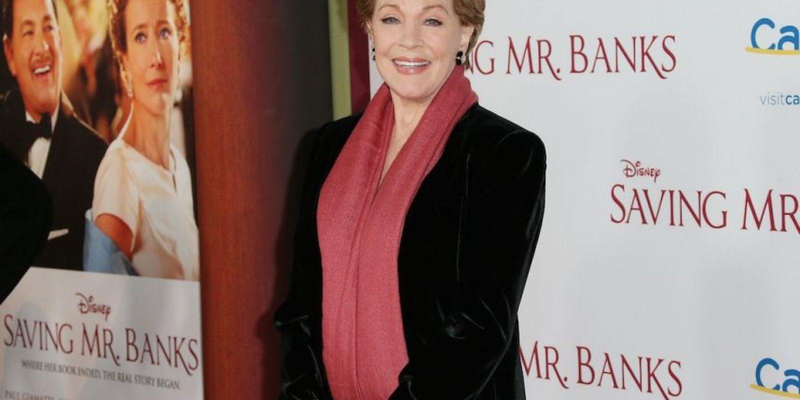"""En la actualidad tiene 79 años y es más conocida como la protagonista de """"Mary Poppins"""" y """"The Sound of Music"""". Foto:Getty Images"""