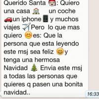 Mito: Si no reenvían este mensaje, sus amigos no tendrán una feliz navidad. Foto:Tumblr