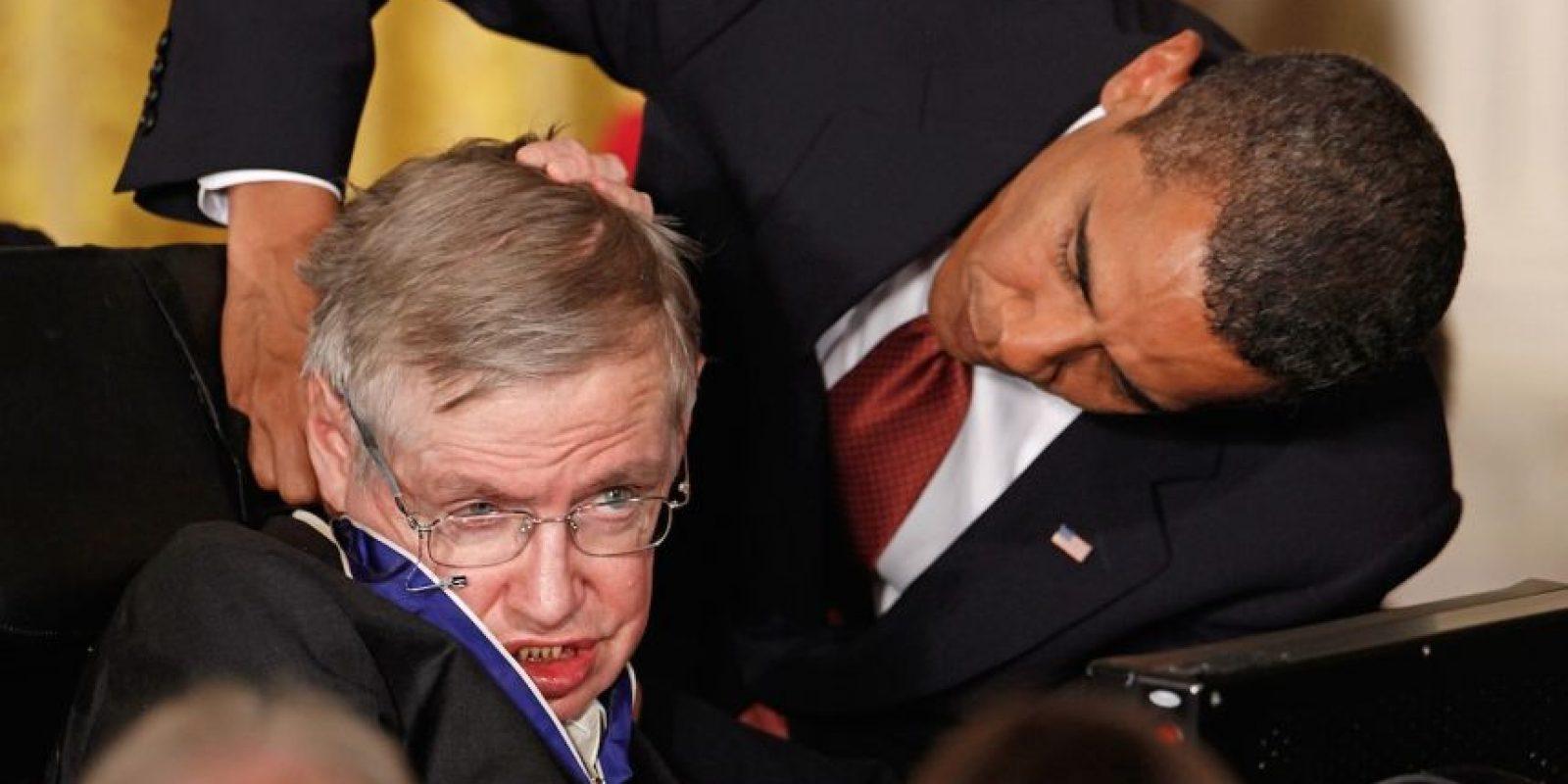 10.- Recibió la Medalla Presidencial de la Libertad, el mayor reconocimiento que otorga el gobierno de los Estados Unidos. Foto:Getty Images