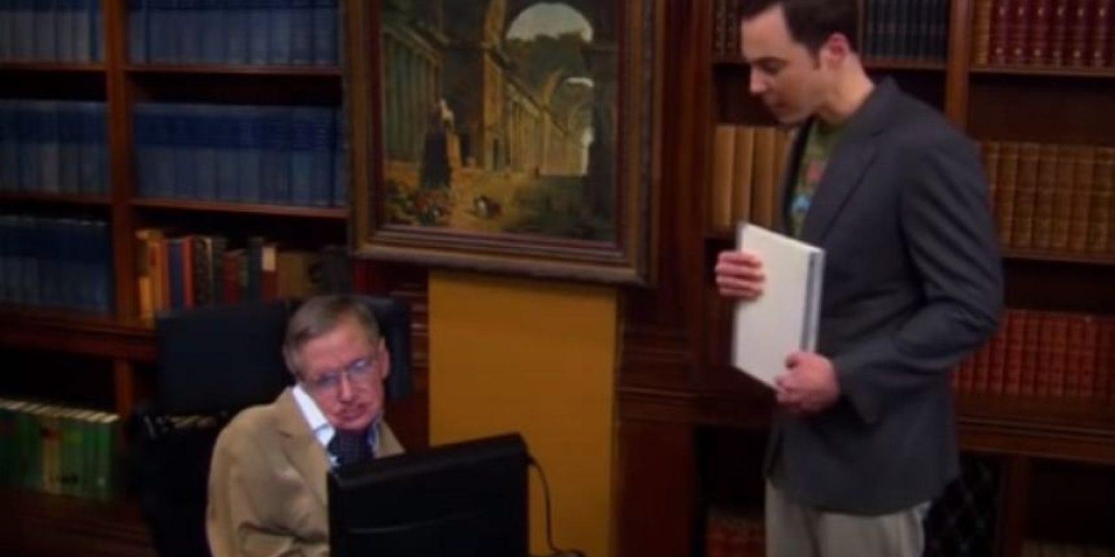 """4.- Logró humillar (con argumentos) al creído """"Sheldon Cooper"""" de la serie """"The Big Bang Theory"""" Foto:YouTube"""