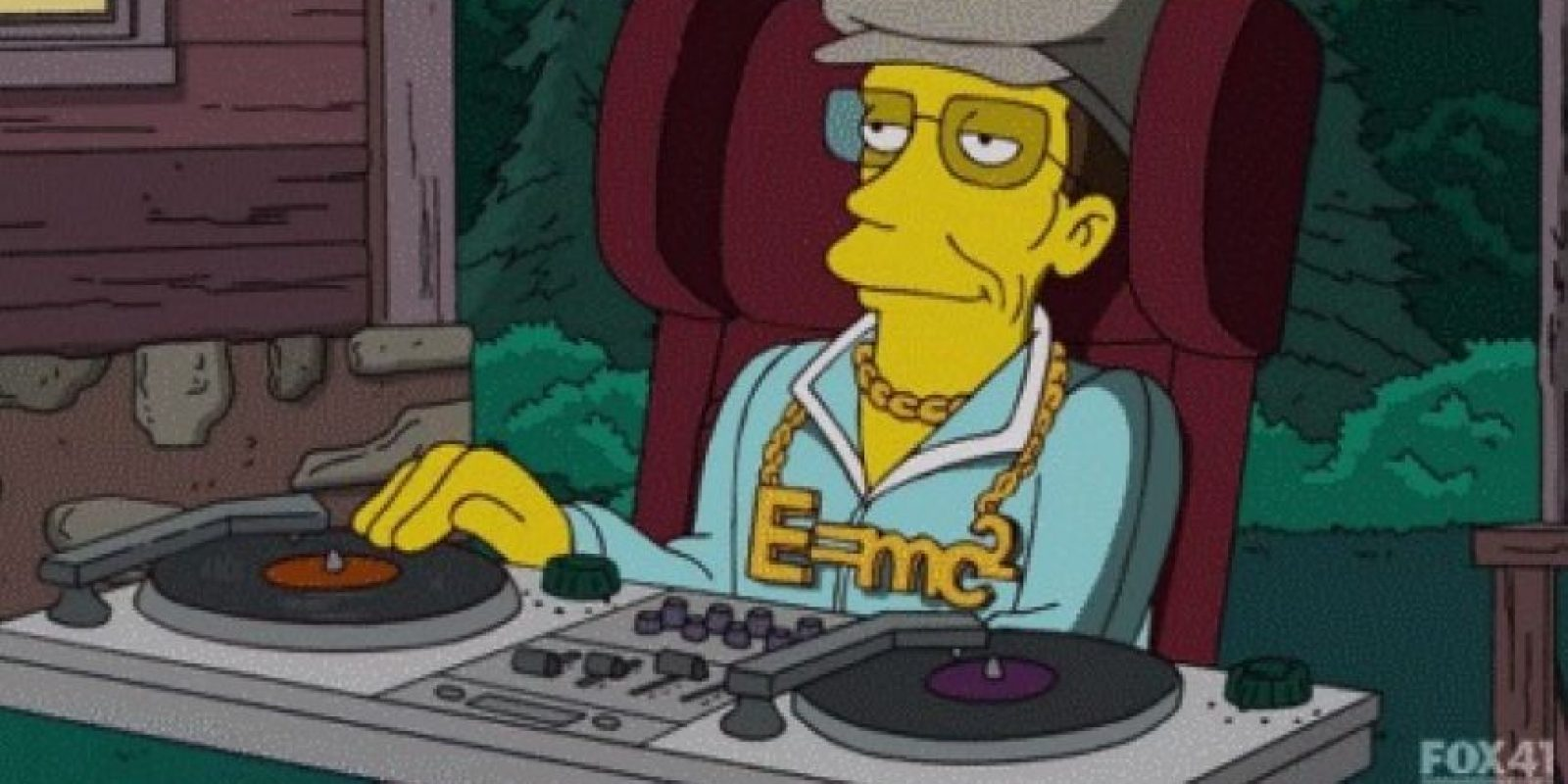 """6.- Su versión de sí mismo en """"Los Simpson"""" es inolvidable Foto:YouTube"""