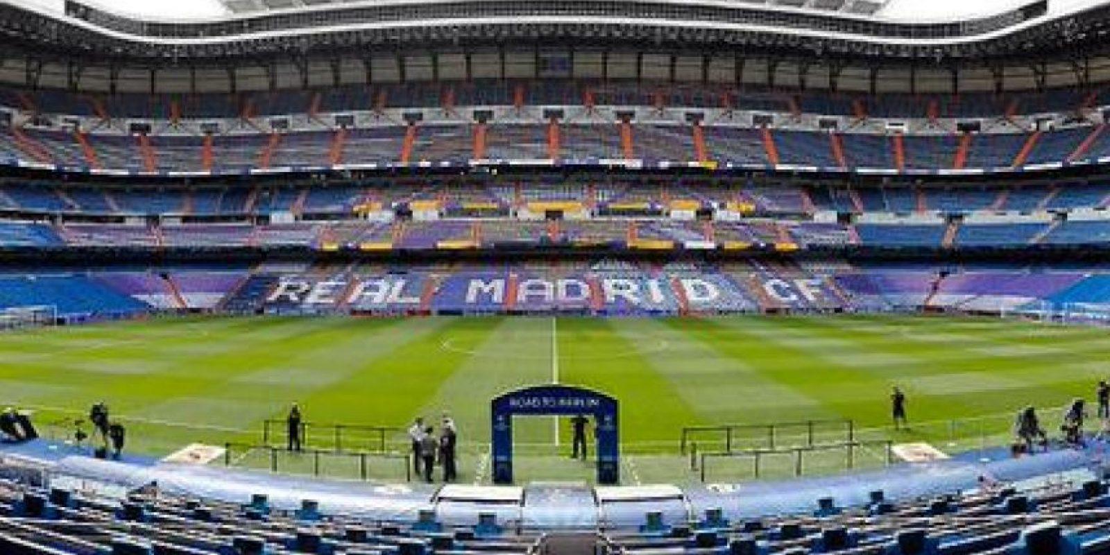 El Santiago Bernabéu, listo para recibir la semifinal de la Champions League. Foto:Vía twitter.com/bernabeudigital
