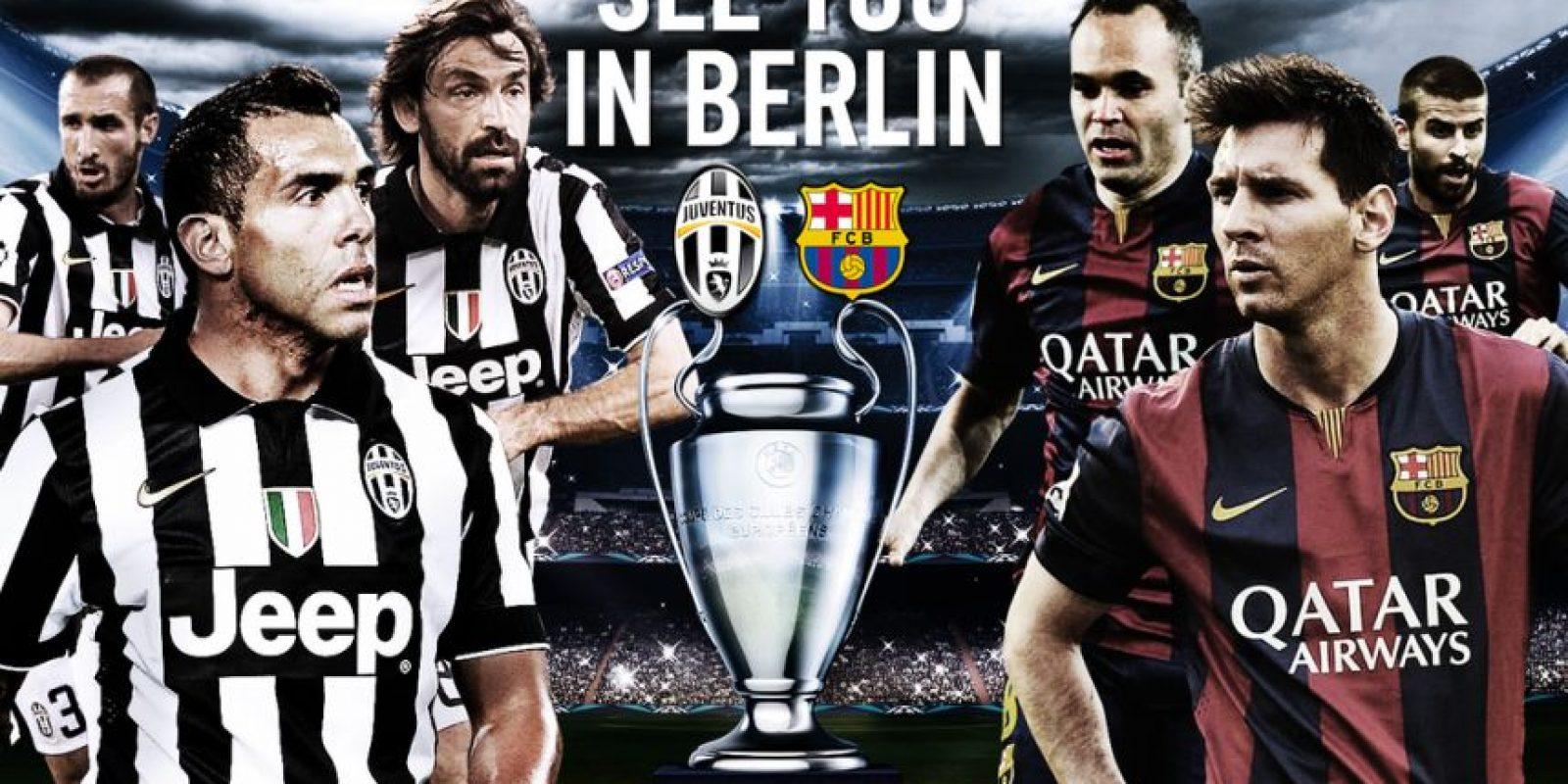 """Y en redes sociales, la """"Juve"""" le mandó un mensaje a su próximo rival, el Barcelona: """"Te veo en Berlín"""". Foto:Vía twitter.com/juventusfc"""