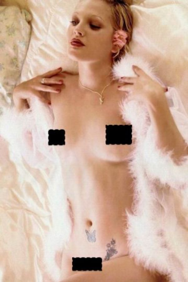 Drew Barrymore. Foto:vía Playboy