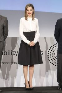 La reina Letizia. Foto: vía Getty Images