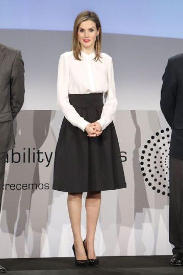 La reina Letizia. Foto:vía Getty Images