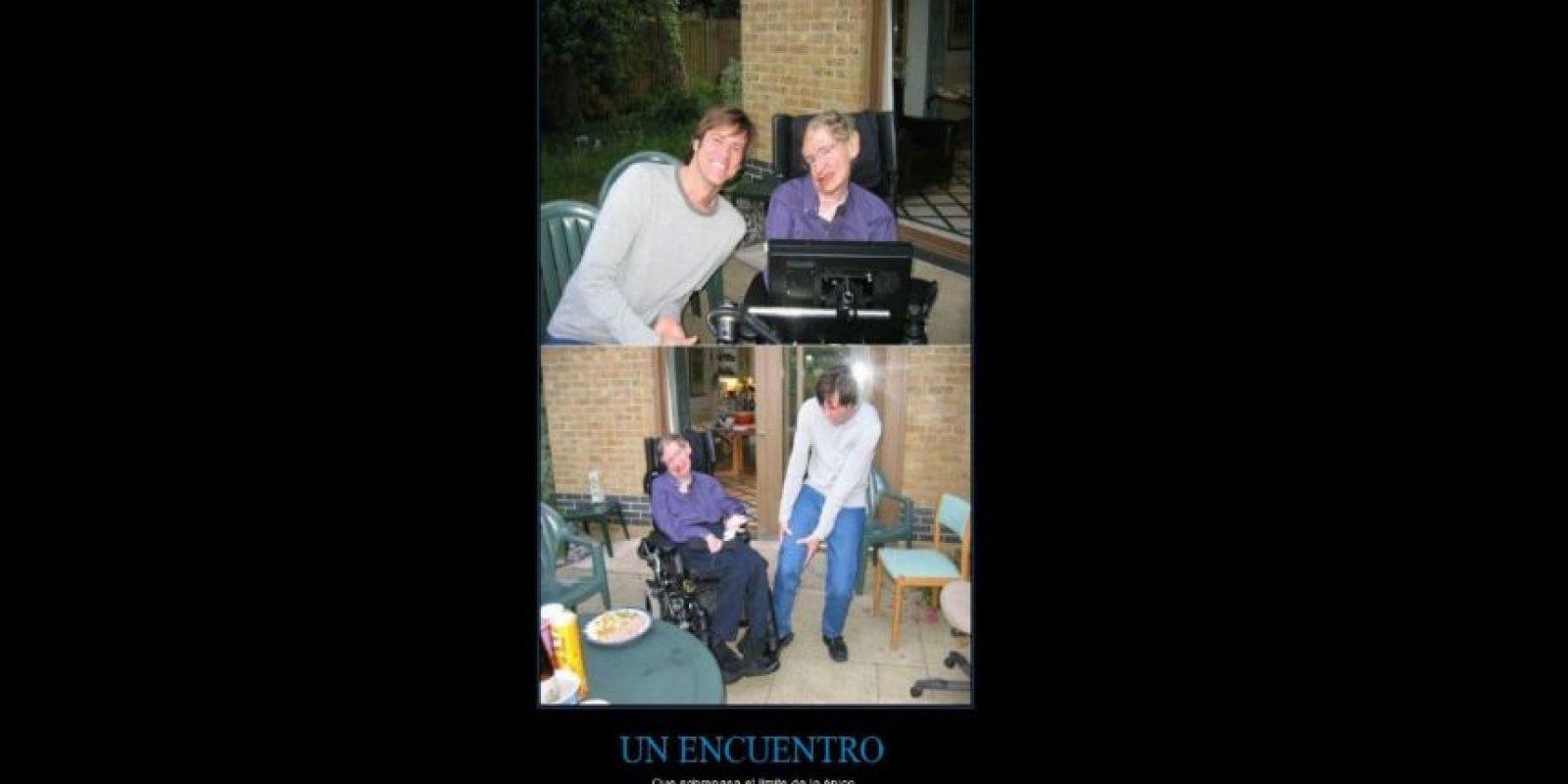 2.- En una ocasión conoció a Jim Carrey y además lo atropelló Foto:Reddit