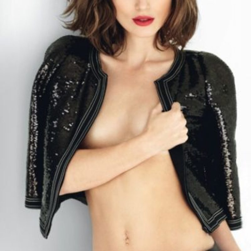 Keira Knightley. Foto:vía Allure Magazine.