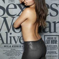 Mila Kunis. Foto:vía Esquire.