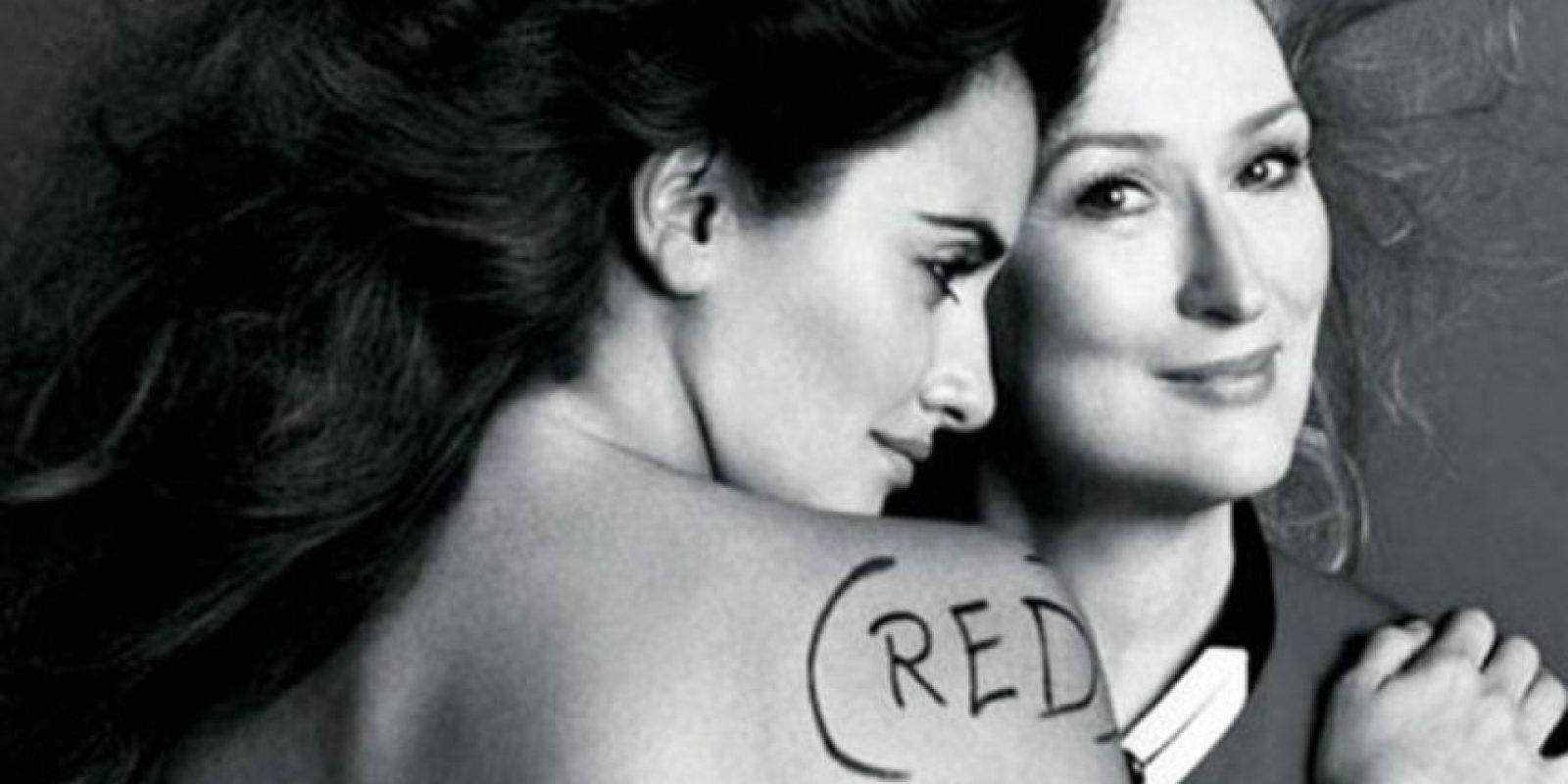 Penélope Cruz. Foto:vía Vogue.