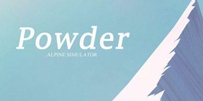 Powder es un simulador de ski en el que debes bajar una montaña. Es muy relajante Foto:Enormous
