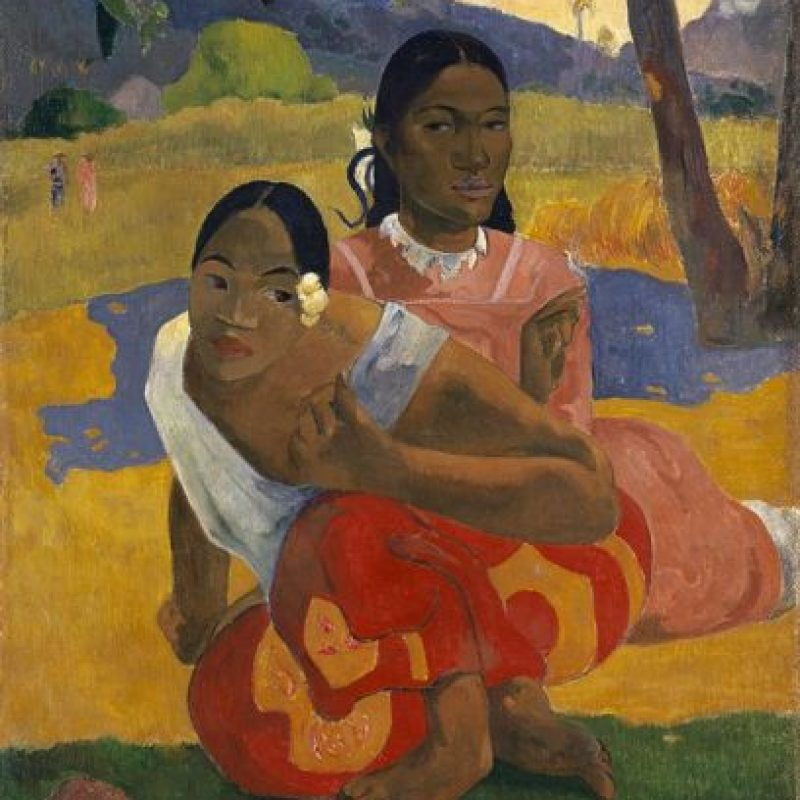 1. Will you Marry me (1982)- La obra de Paul Gaugin se vendió en febrero de este año en 300 millones de dólares. Foto: Wikimedia Commons