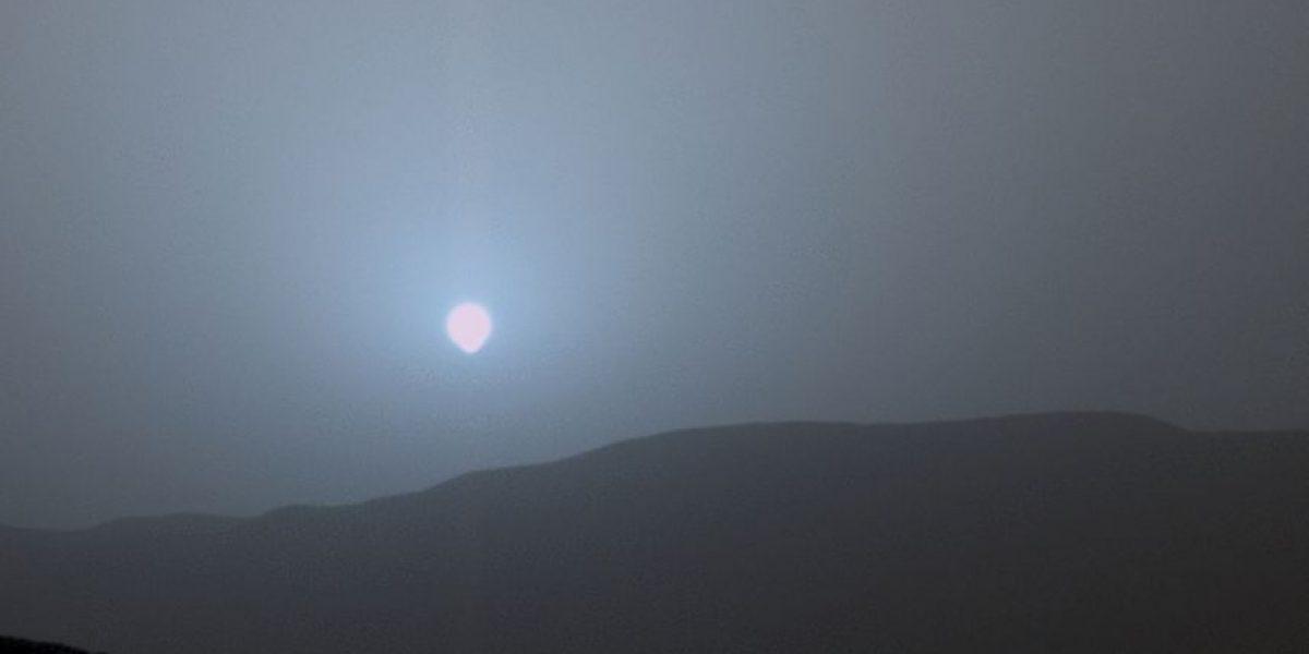 FOTOS: Robot Curiosity capta el atardecer azul de Marte