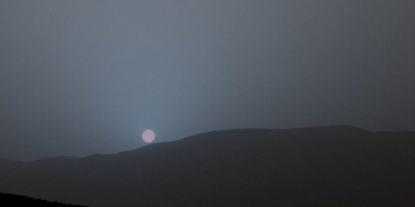 La Mastcam (camará utilizada por Curiosity) capta el color de forma muy similar a como lo hace el ojo humano, aunque es ligeramente menos sensible al azul de lo que somos los humanos. Foto:http://www.nasa.gov