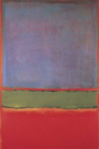 3. Violet, Green and Red (1951)- La obra de Mark Rothko se vendió al multimillonario ruso Dmitry Rybolovlev por 186 millones de dólares. Foto: Wikimedia Commons