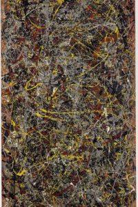 5. No. 5 (1948)- La obra de Jackson Pollock se vendió por 165 millones de dólares. Foto:Captura de pantalla