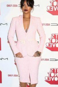 Rihanna usó uno. Foto:vía Getty Images
