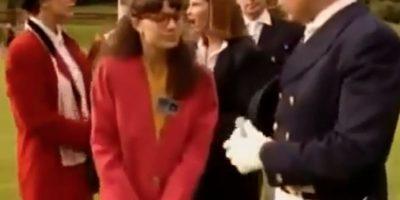 Sus blazers, que tanto le criticaban por antiguos. Foto:vía RCN Televisión