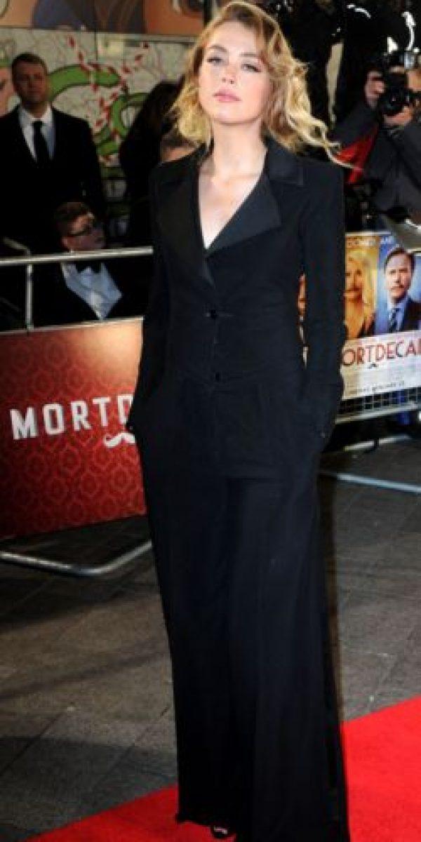 Amber Heard. Foto:vía Getty Images