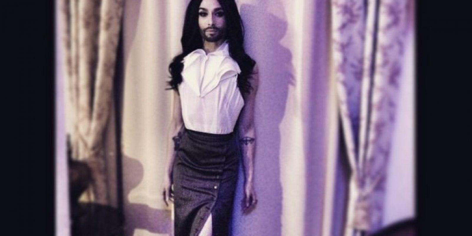 7. En 2014 ganó Conchita Wurst. Foto:Vía Instagram.com/conchitawurst